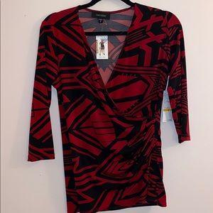 Starlight V-neck Karen Kane blouse